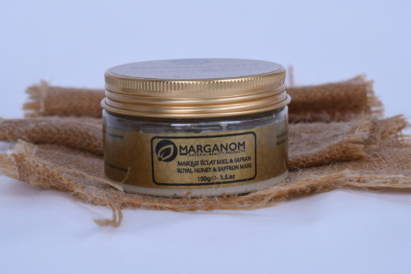 Royal Honey & Saffron Mask