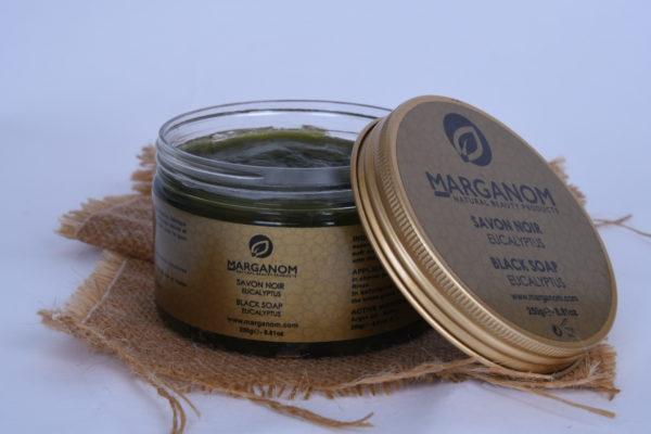 Natural Moroccan Black Soap With Eucalyptus