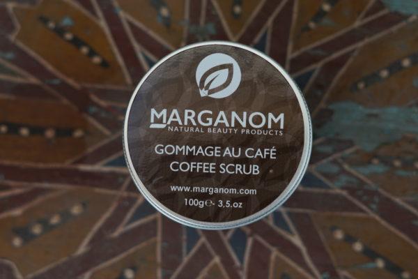 COFFEE SCRUB WITH ARGAN OIL